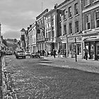 Guildford, Surrey, England (B&W) by Elaine Teague