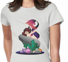Flirty Mermaid  Womens Fitted T-Shirt