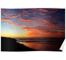 Southport Sunset Poster