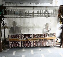 Agra carpet makers - India by fionapine