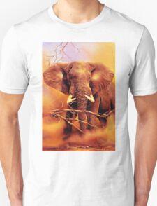 The African bush elephant (Loxodonta africana) T-Shirt