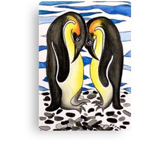 I Choose You ~ you are my penguin. Canvas Print