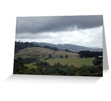 The Hills Greeting Card