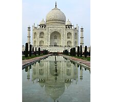 Taj Mahal - Agra, India Photographic Print