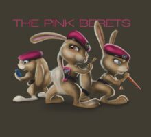 The Pink Berets by BlakeFox