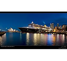 The Queen Mary ll Photographic Print