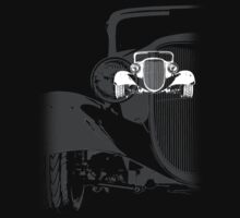 1933 Ford Coupe (B&W) by blulime