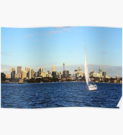 Sunday in Sydney Poster