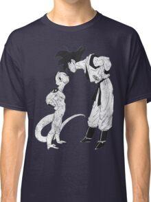 Goku & Frieza scratch Classic T-Shirt