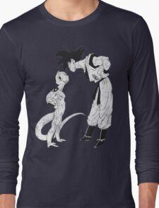 Goku & Frieza scratch Long Sleeve T-Shirt