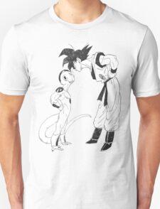 Goku & Frieza scratch Unisex T-Shirt