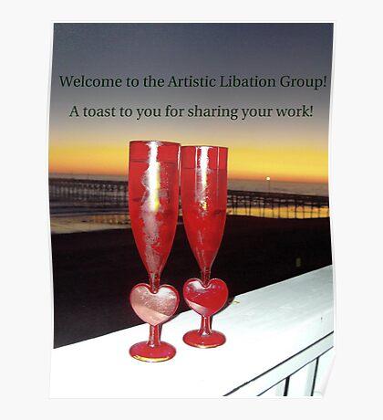 Artistic Libation Banner Challenge Entry Poster