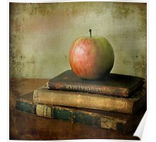 ...with apple & books Poster