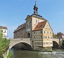 Altes Rathaus, Bamberg, Germany by Margaret  Hyde