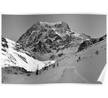 Mont Collon Poster