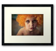 Don't worry... things will look better tomorrow. Framed Print