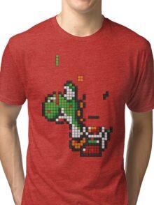 Yoshi Tetris Tri-blend T-Shirt