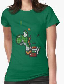 Yoshi Tetris Womens Fitted T-Shirt