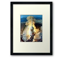Saturn V Launch of Apollo 11 Moon Mission Framed Print
