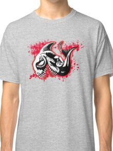 Feisty Fish Red and Black Classic T-Shirt