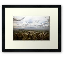 Clouds Appear. Framed Print