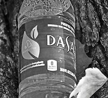 Water bottle in black & white by Magick Moments Photography