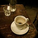 Coffee in a Paris Cafe by Louise Fahy
