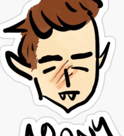 marauder moony Sticker