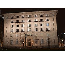 The Cunard Building is a Grade II* listed building  Photographic Print