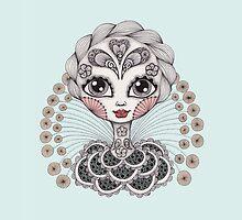 Miss Dia De Los Muertos by Danielle Reck