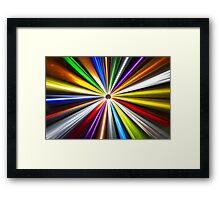 Colorful Eclipse 2 Framed Print