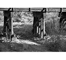 railroad bridge Photographic Print