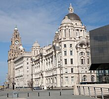 The Liver Building, Liverpool by Keith Larby