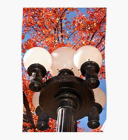 street lamp in Prescott Arizona Poster