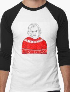 Merry Christmas Harry  Men's Baseball ¾ T-Shirt