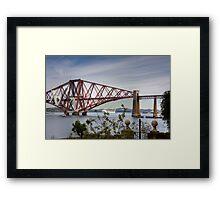 Liner under the Bridge Framed Print