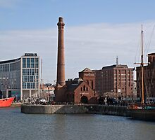The Pump House. Liverpool by Keith Larby
