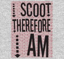 I Scoot Therefore I Am One Piece - Long Sleeve
