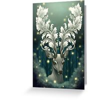 Antlers of Filigree Greeting Card