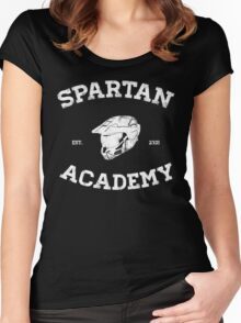 Spartan Academy Women's Fitted Scoop T-Shirt