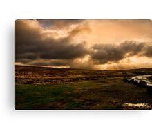 Stay Off The Moors Canvas Print