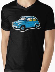 fiat 600 Mens V-Neck T-Shirt