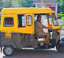 3 wheel taxi  by dattagawade