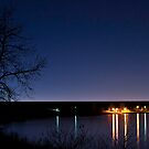 Cherry Creek at Night by JRRouse