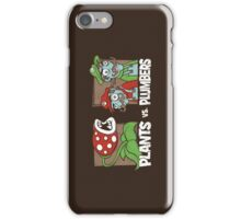 Plants Vs Plumbers iPhone Case/Skin