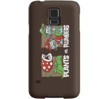 Plants Vs Plumbers Samsung Galaxy Case/Skin