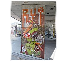 Graffiti, Bratislava, Slovakia Poster