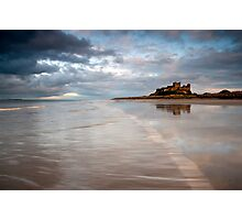 Bambrough Beach Photographic Print