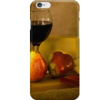 Fruit, Cheese and Wine iPhone Case/Skin