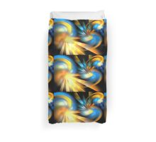Galaxy Rays Duvet Cover